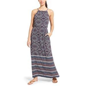 ATHLETA Island Life Maxi Dress Paisley Print #L14